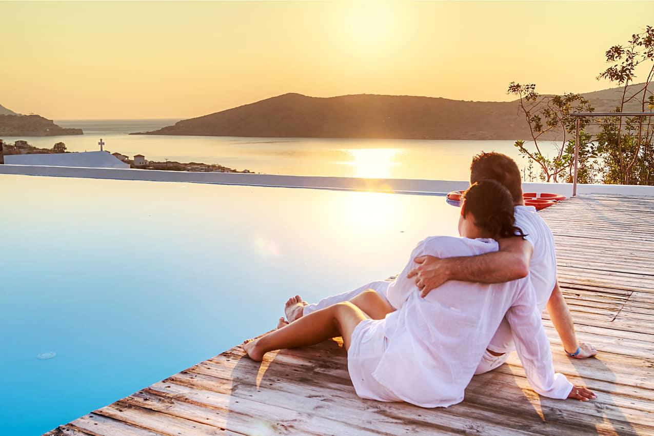 Casal lua de mel, Grécia