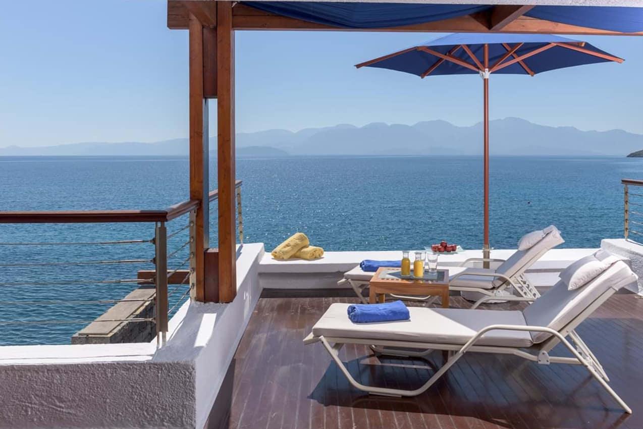 Deck Premium Club Island Bungalow, Elounda Beach Hotel & Villas