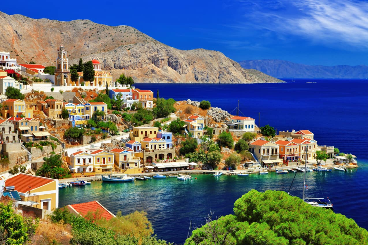 Ilha Symi, Dodecanese, Grécia