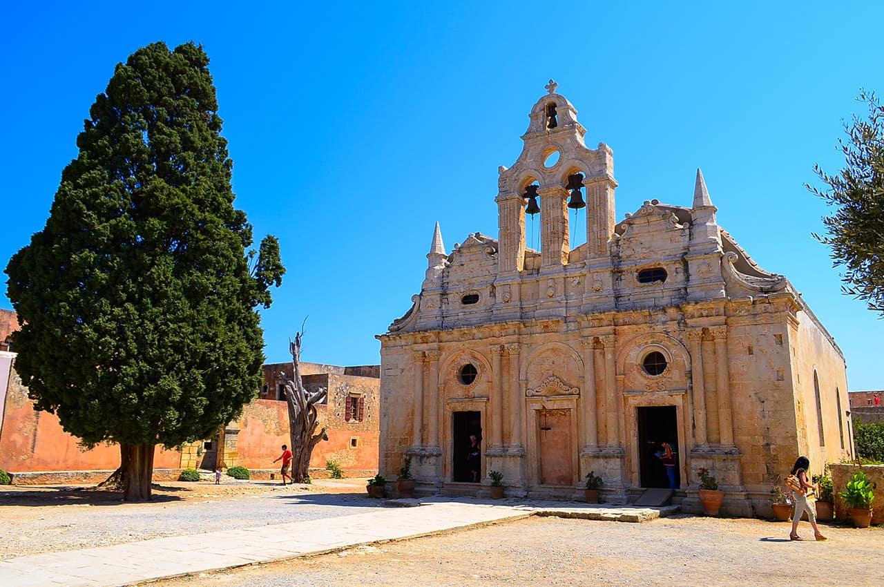 Mosteiro Arcadi - Creta, Atenas.