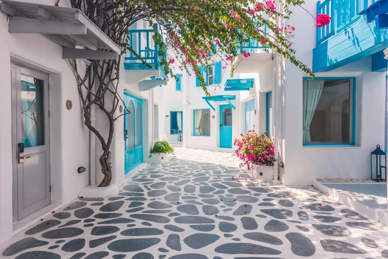 Pacote Grécia: arquitetura típica grega