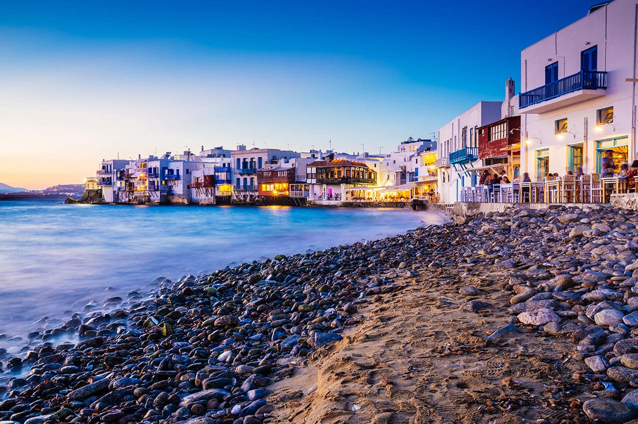 Pacote Grécia, Vida noturna, Ilha de Míconos, Grécia Ilhas