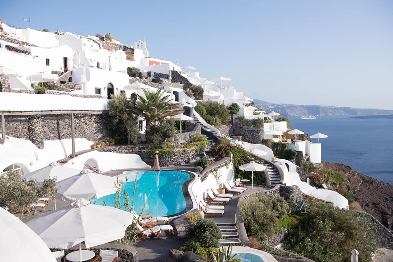 Perivolas Hotel em Santorini, Grécia