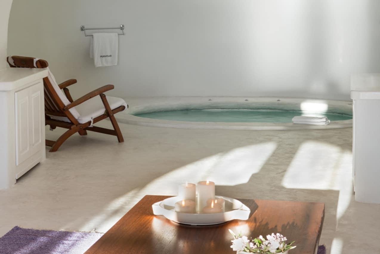 Spa indoor, Perivolas Lifestyle Houses