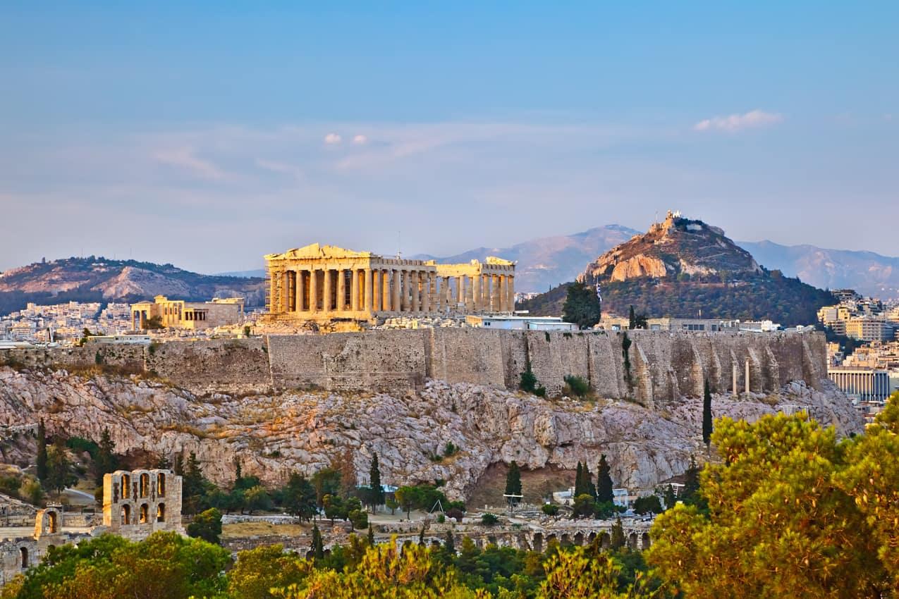 Vista Acrópolis, Atenas, Grécia