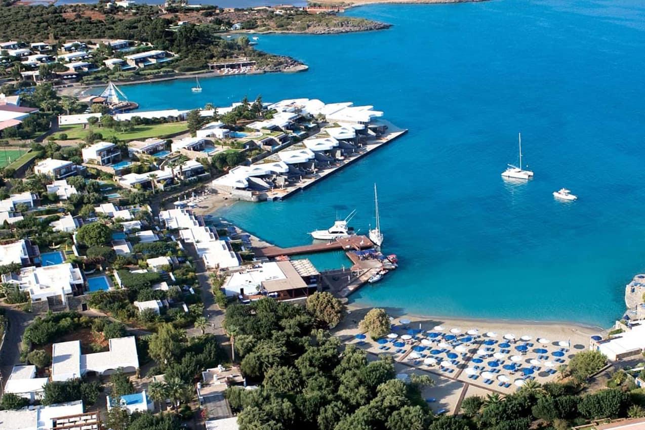 Vista aérea, Elounda Beach Hotel & Villas