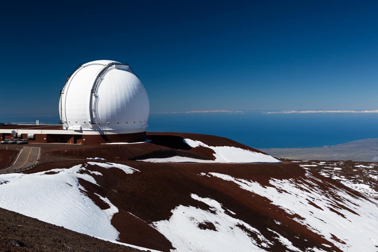 Observatório vulcão Mauna Kea, Maui, Havaí