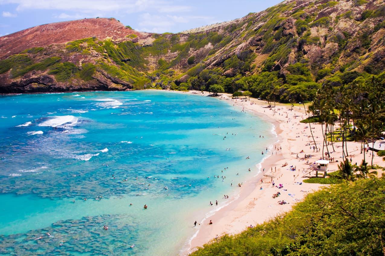 Praia Hanauma Bay, Havaí