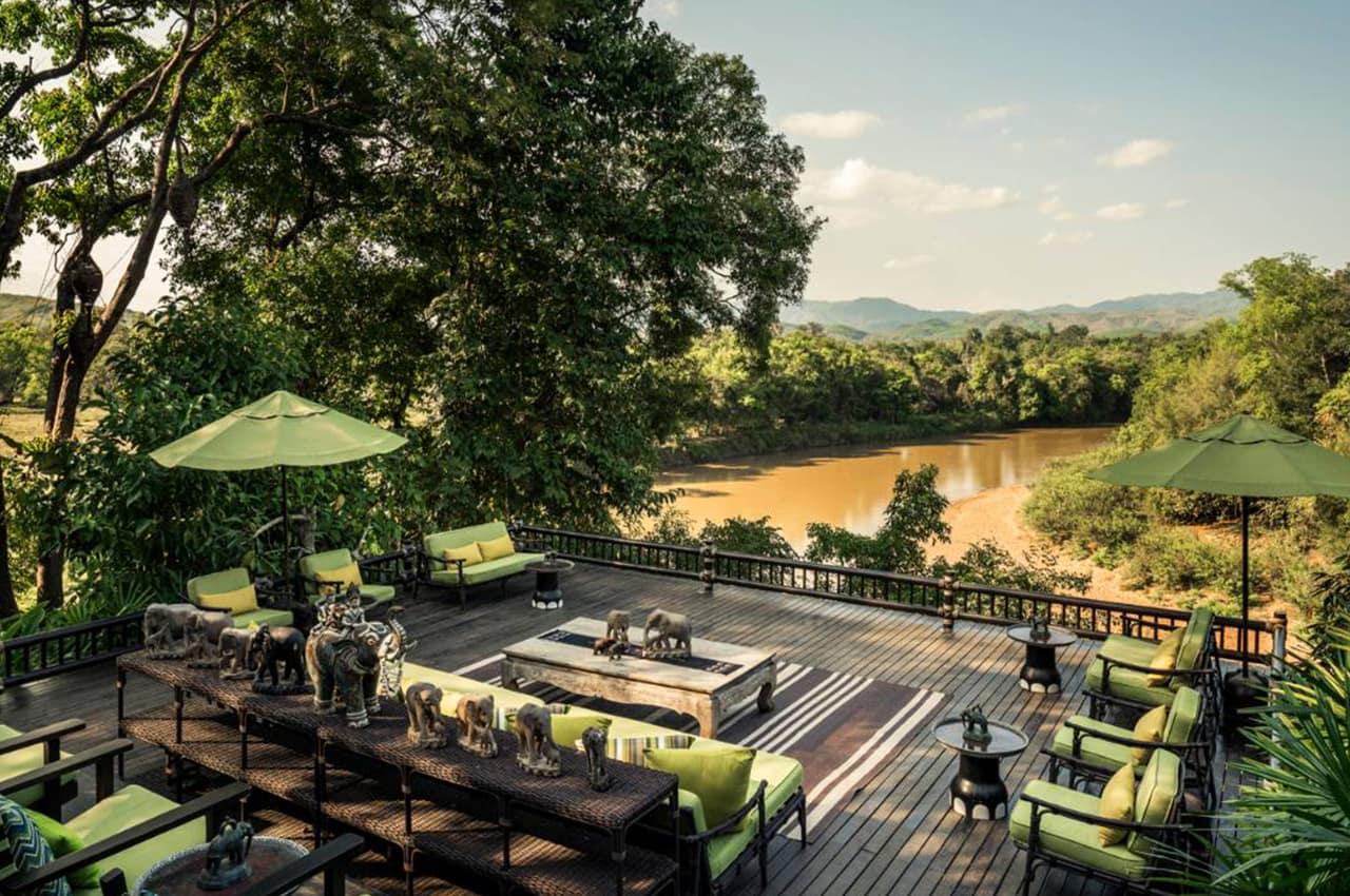 Four Seasons Tented Camp Golden Triangle, Tailândia | Hotéis Kangaroo Tours