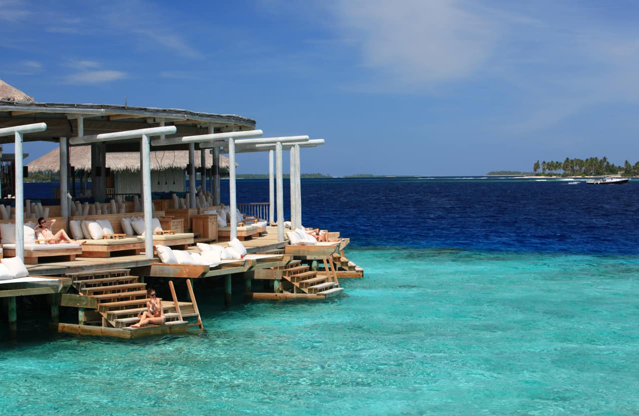 Chill no Six Senses Laamu, Ilhas Maldivas