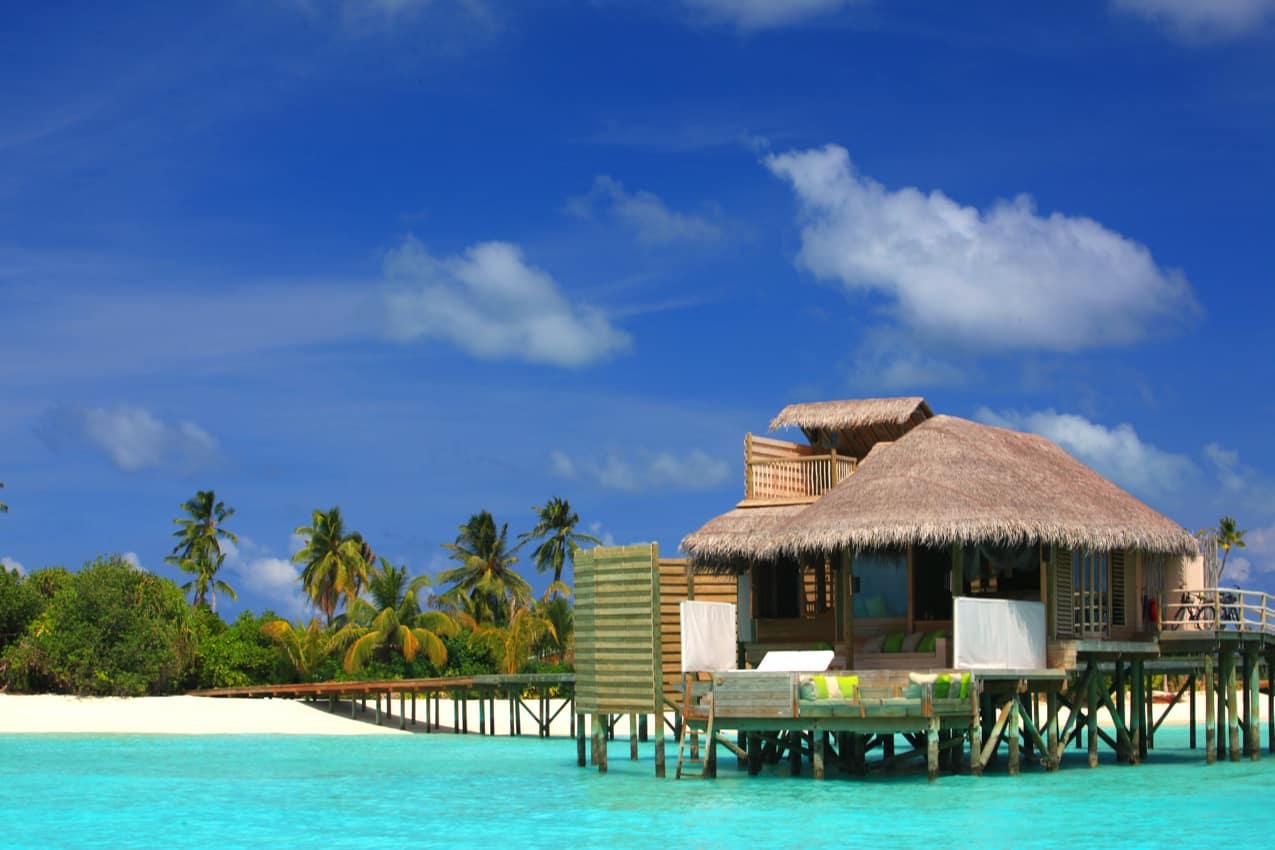 Water Villa no Six Senses Laamu, Maldivas
