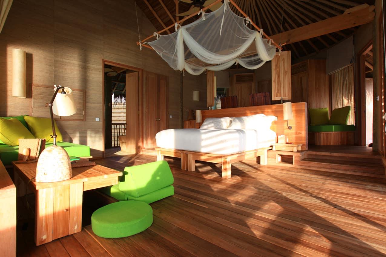 Water Villa do Six Senses Laamu, Ilhas Maldivas