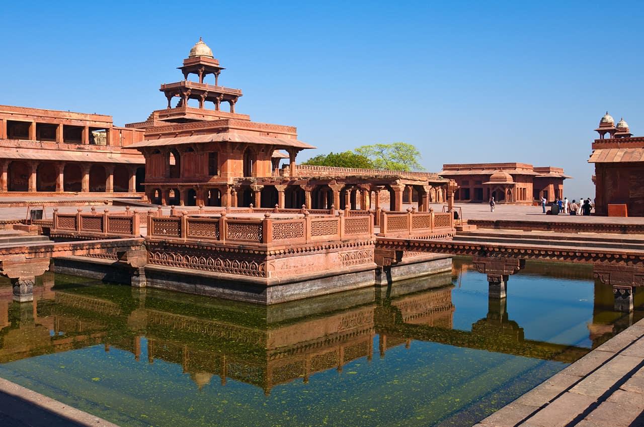Atração Turística: Cidade Fantasma Fatehpur Sikri, Patrimônio Unesco, Índia