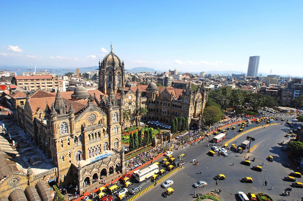 Atração Turística: Terminal Chatrapati Shivaji, Patrimônio Mundial Unesco, Mumbai, Índia