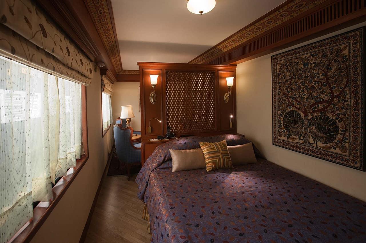 Cabine Suite, Maharajas' Express, Trem de luxo, Índia