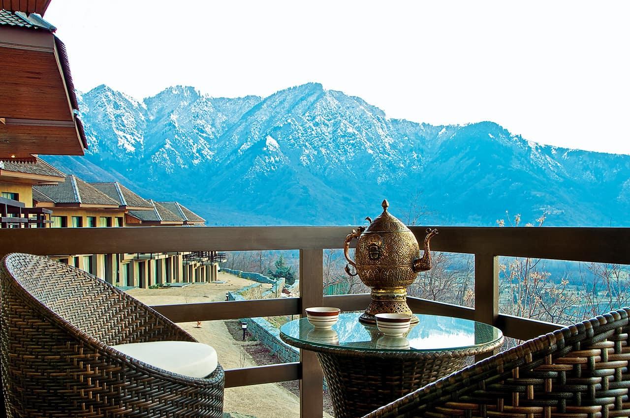 Pacote Caxemira: Chá Lounge, Vivanta By Taj-Dal View, Índia Hotel