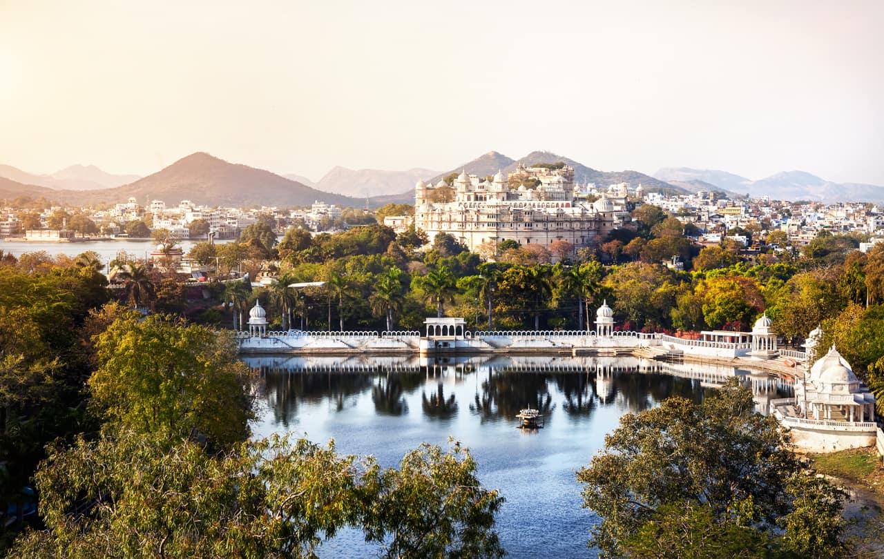 Pacote Índia: Lago Pichola, City Palace, Udaipur, Rajastão