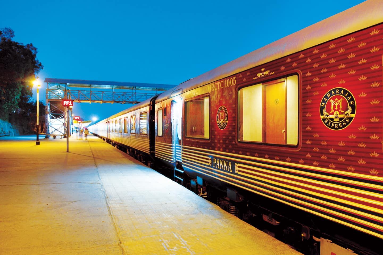 Pacote India: Maharajas' Express. Trem de Luxo