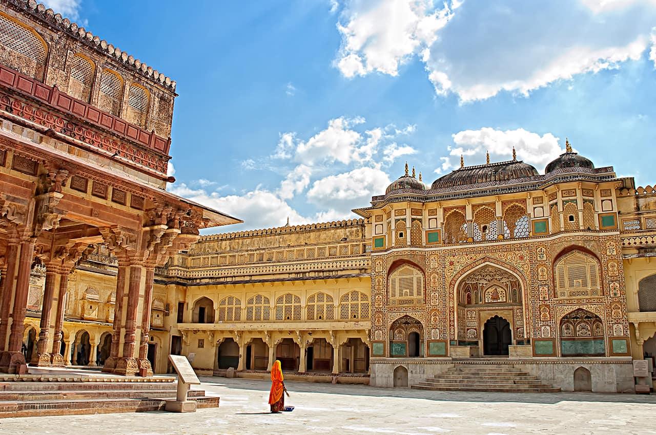 Ponto TurÍstico: Forte Amber, Jaipur, Rajastão, Índia Turismo