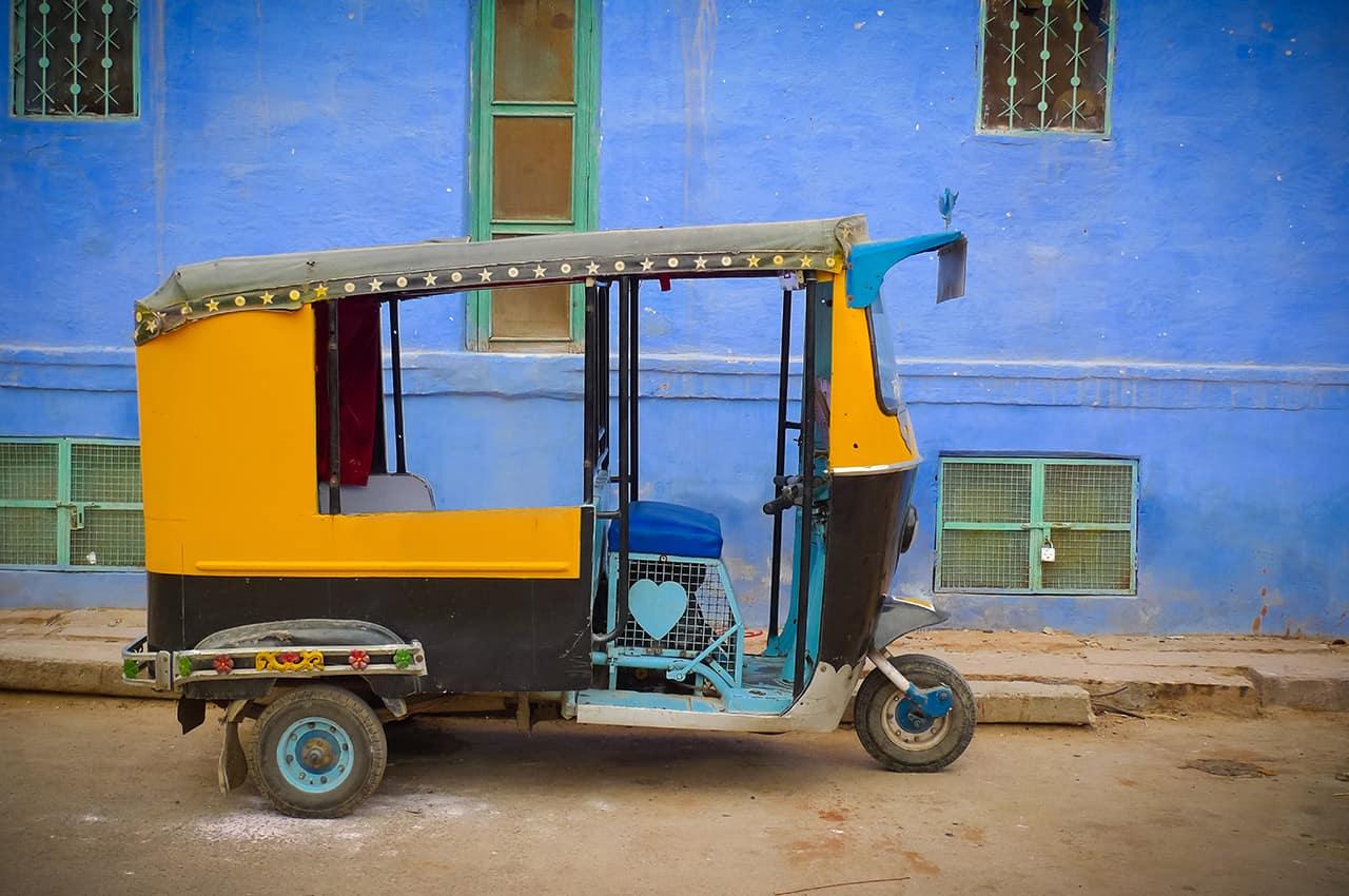 Rickshaw em Jodhpur