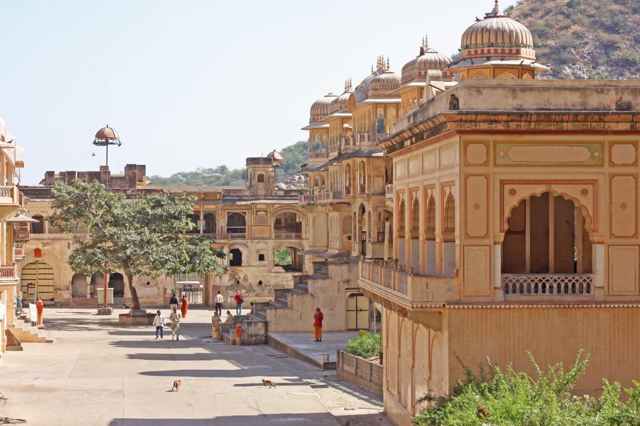 Templo hindu, Jaipur, Rajastão, Índia