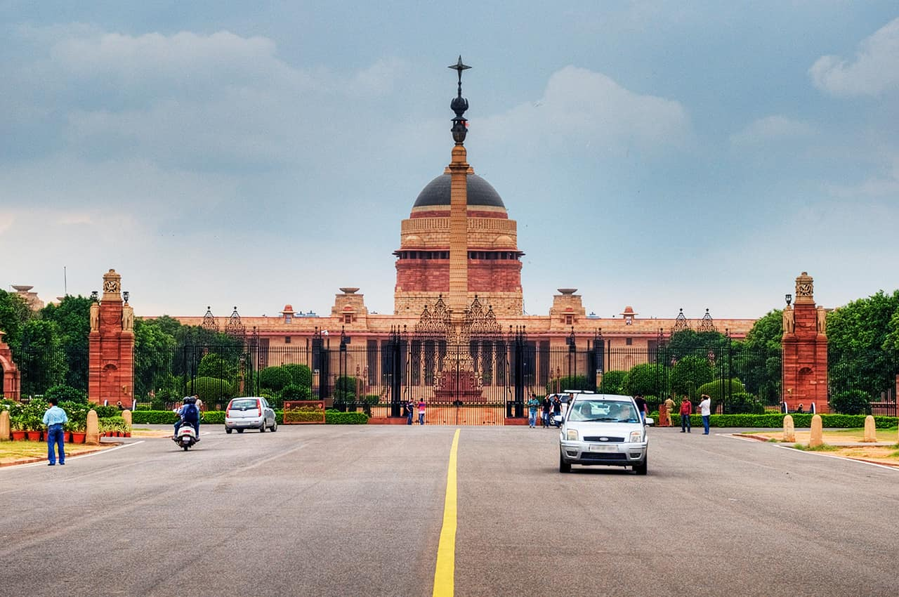 Viagem Índia: Rashtrapati Bhavan, Casa do Presidente, Nova Deli
