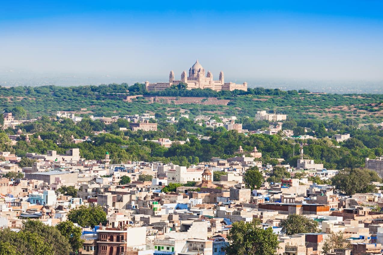 Vista Jodhpur, Cidade Azul, Índia