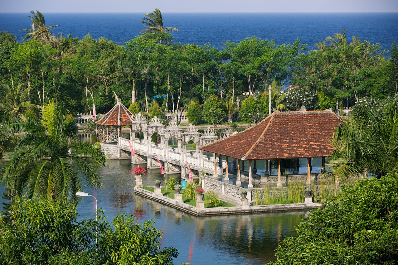 Atrativo turístico Bali Water Palace, Candidasa