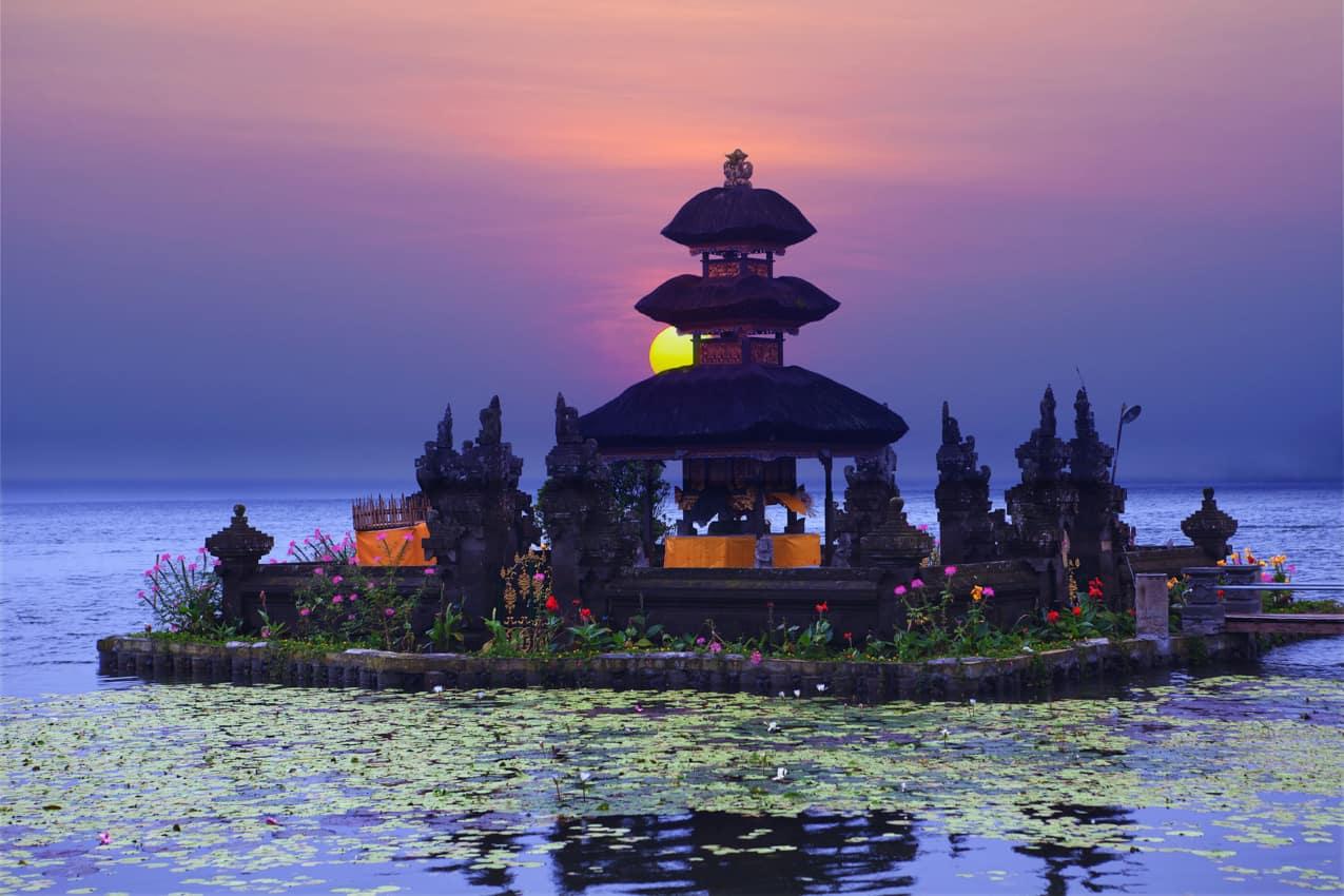 Atrativo turístico Templo Pura Ulun Danu Bratan, Bali