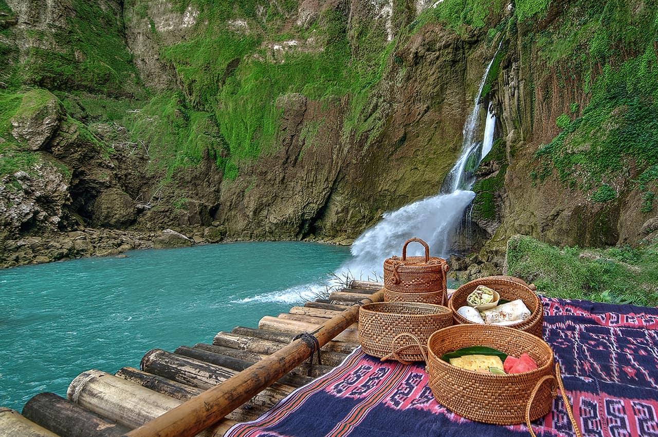 Blue Waterfall, Sumba