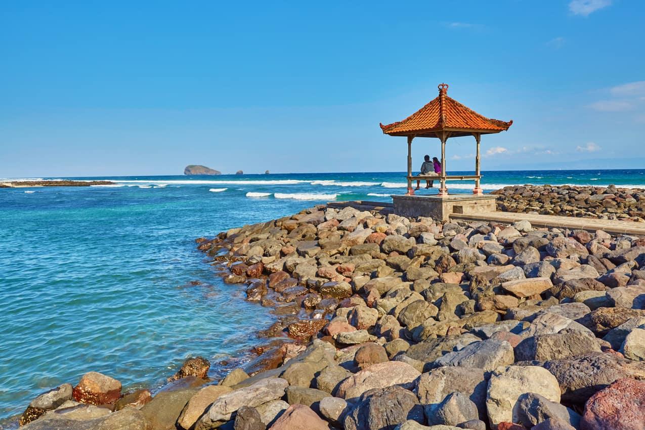 Candidasa, Bali, Indonésia