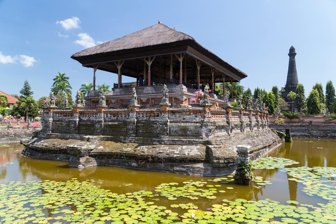 Kertha Gosa Pavilion Klungkung Palace, Semarapura, Indonésia