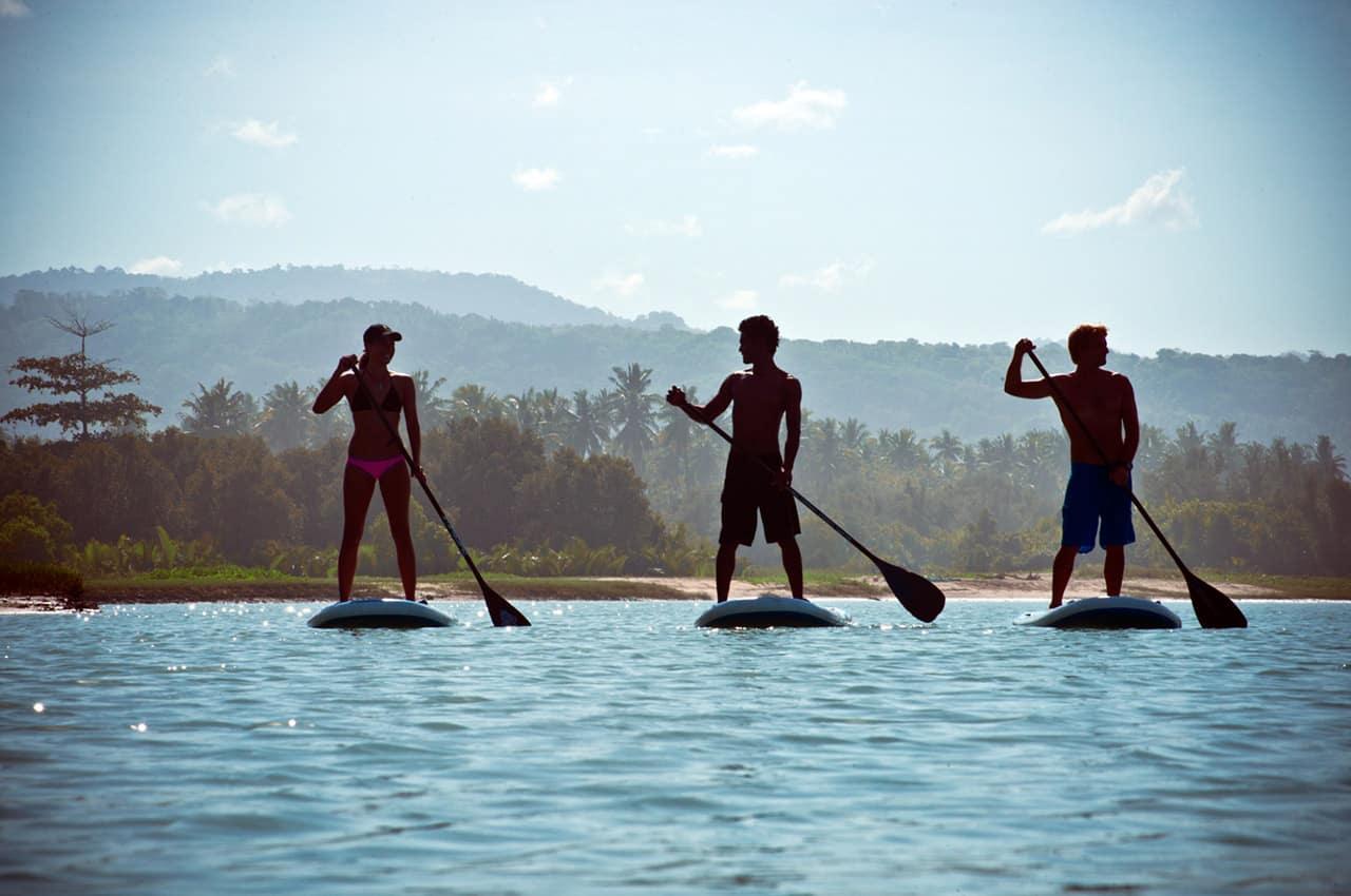 Stand up paddle Nihiwatu