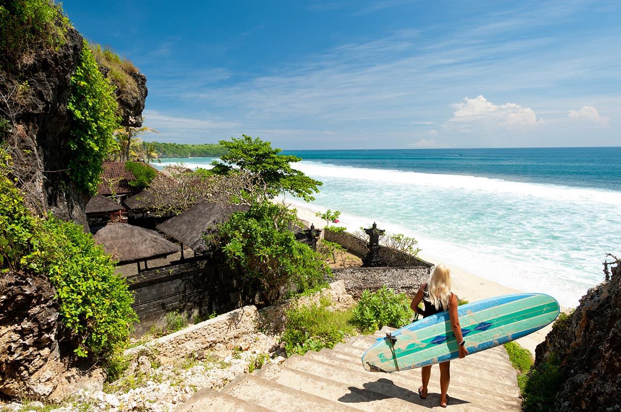 Surf em Bali