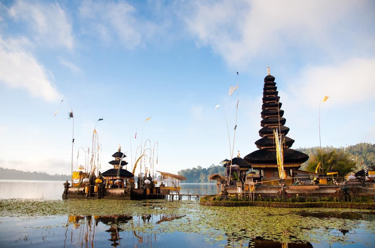 Templo Pura Ulun Danu Bratan, Bali indonesia