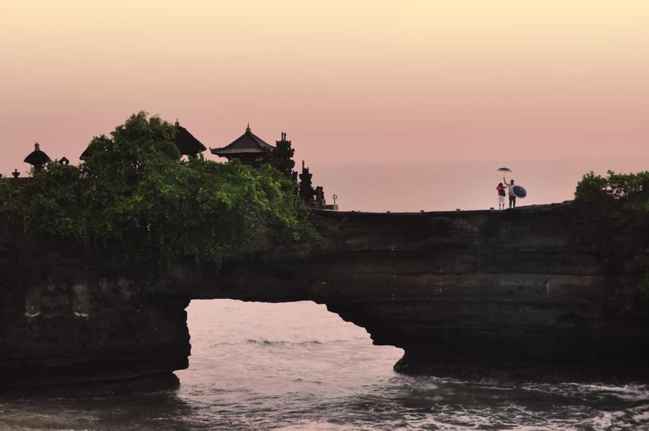 Viagem Bali: Templo Tanah Lot, Indonésia
