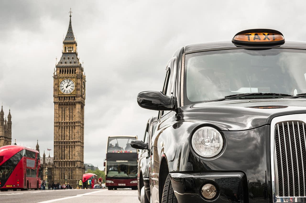 Londres com big ben