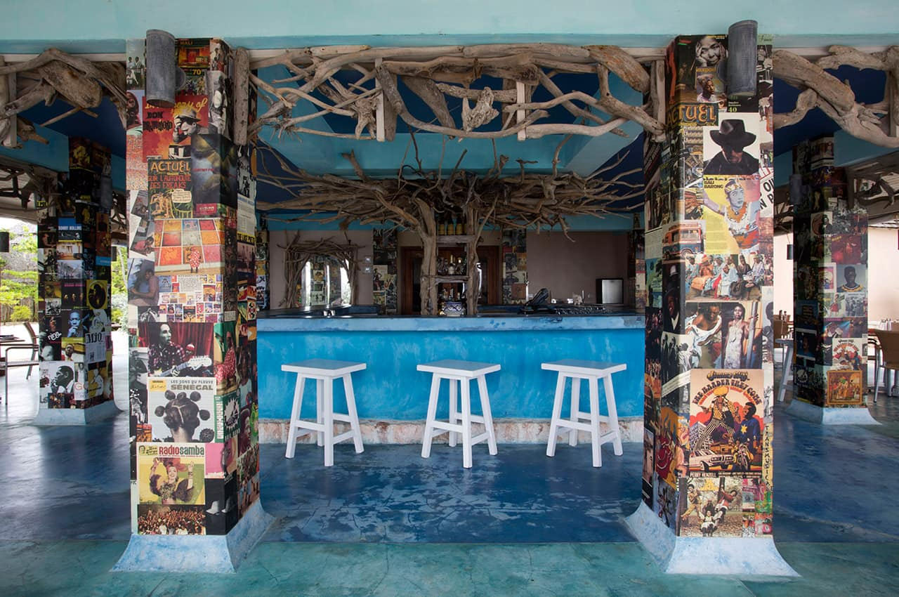 Bizot Bar, Goldeneye, Oracabessa Bay, Jamaica