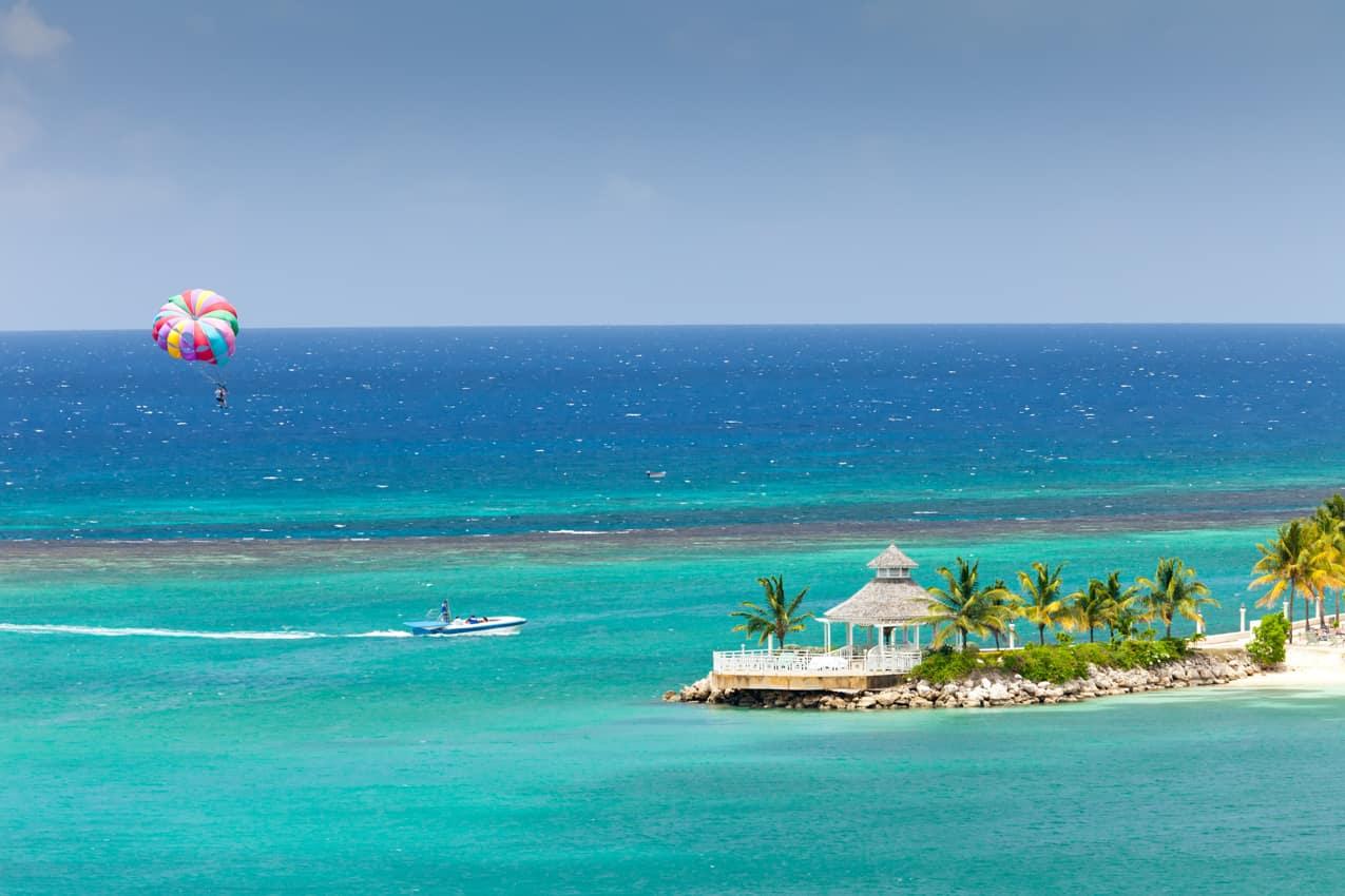 Parasail Ocho Rios, Jamaica