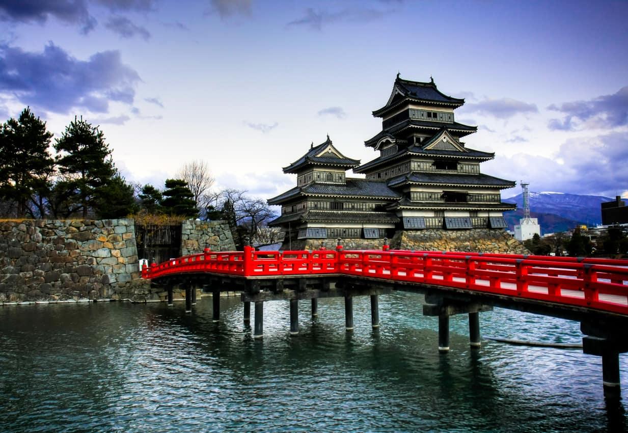 Atração turística: Castelo Matsumoto, Japão
