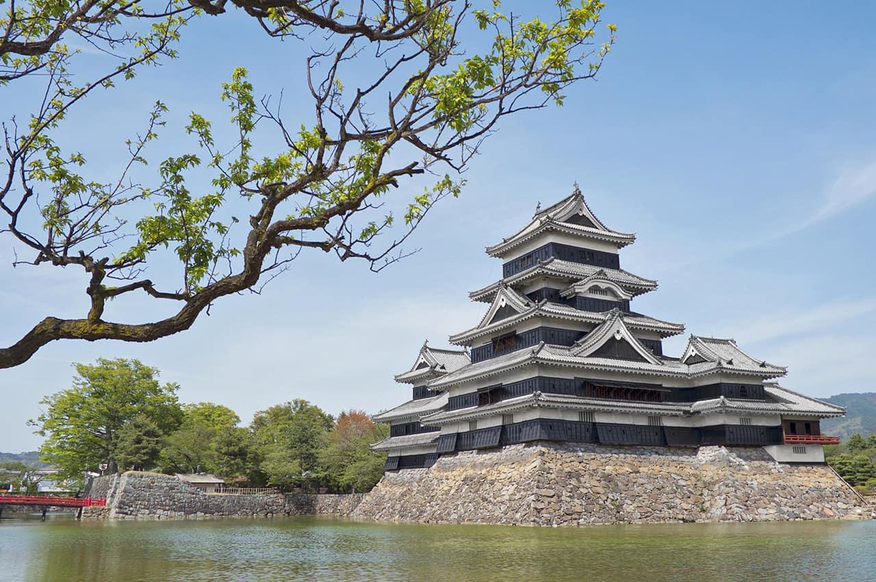 Castelo de matsumoto nagano jap o
