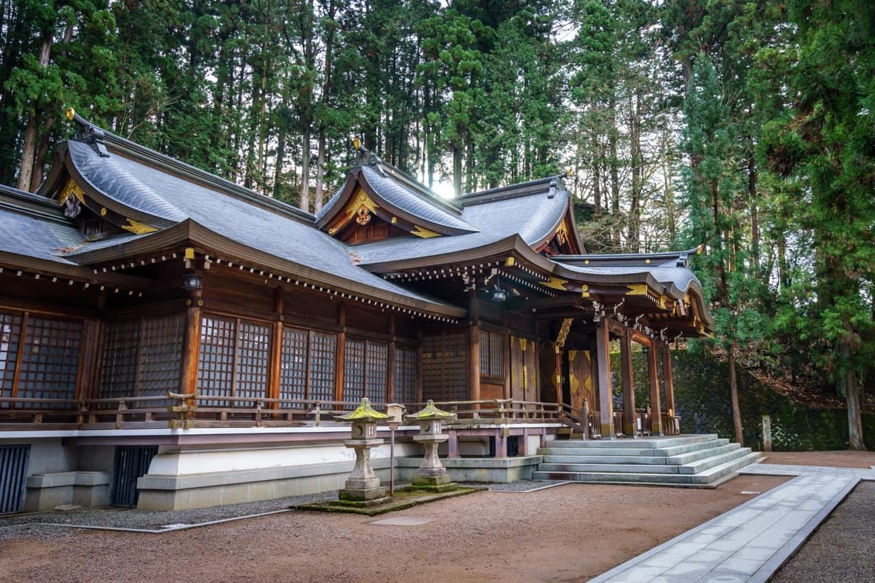 Prefeitura Gifu, Sakurayama Hachimangu, Takayama, Pacote Japão