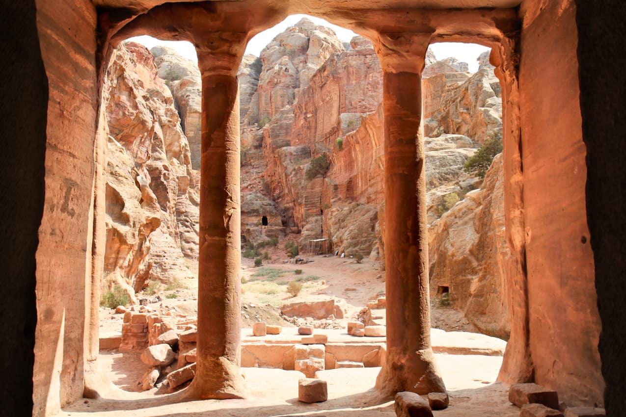 Vista Jardim Hall, Petra, Jordânia