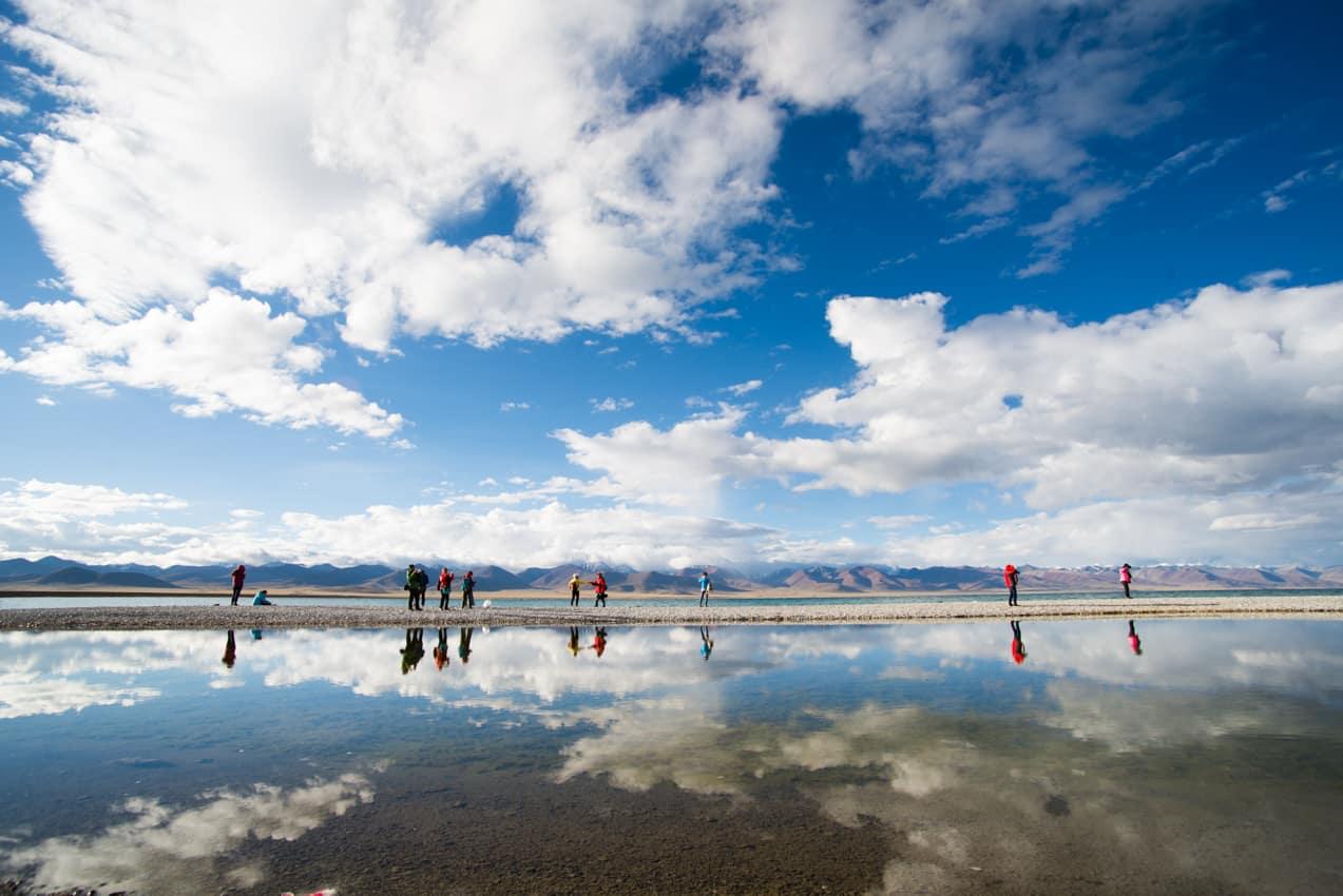 Lago Namtso, Tibete