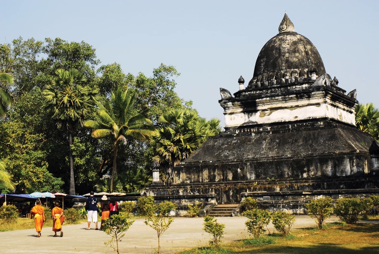 Viagem Laos, Templo Luang Prabang