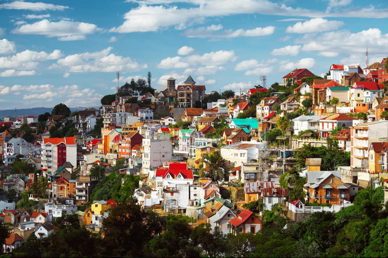 Pacote Madagascar, prédios arquitetura Antananarivo