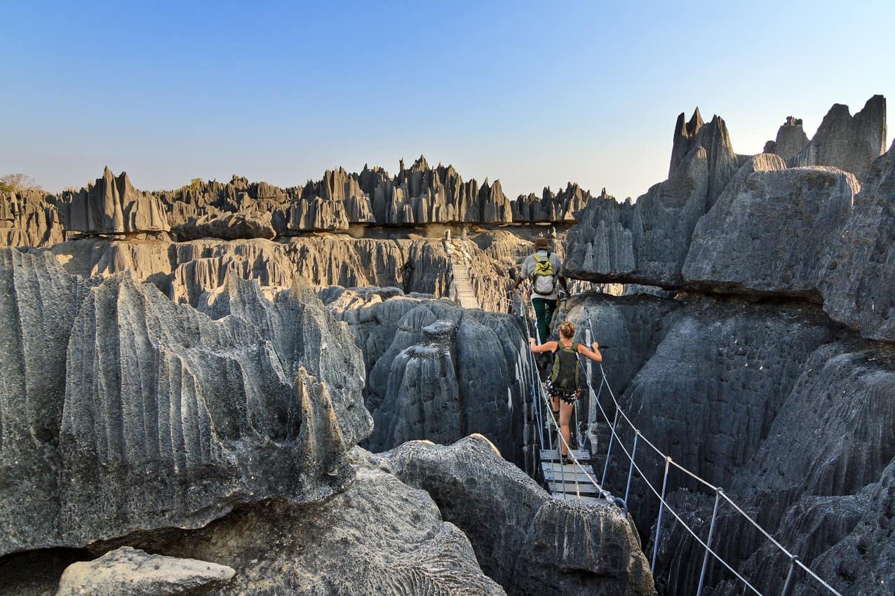 Turismo Madagascar, atividades passeios ponto turístico Reserva Natural Tsingy Bemaraha