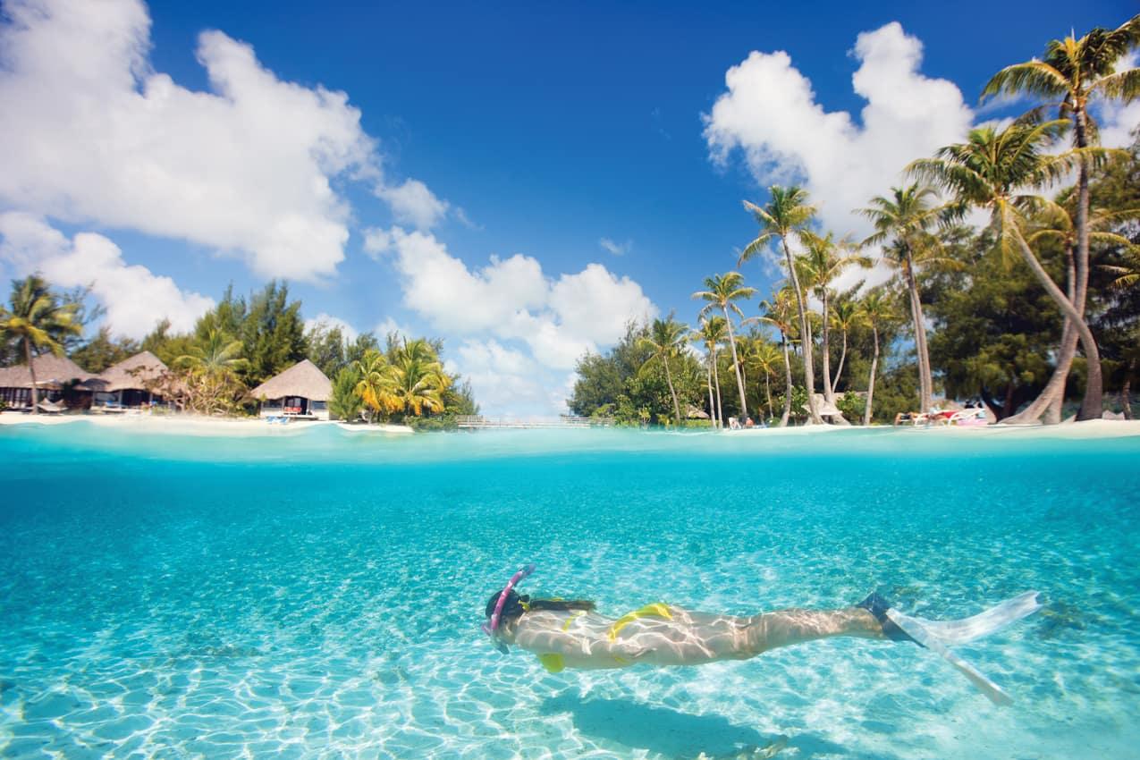 Atividades snorkel mergulho Ilhas Maldivas