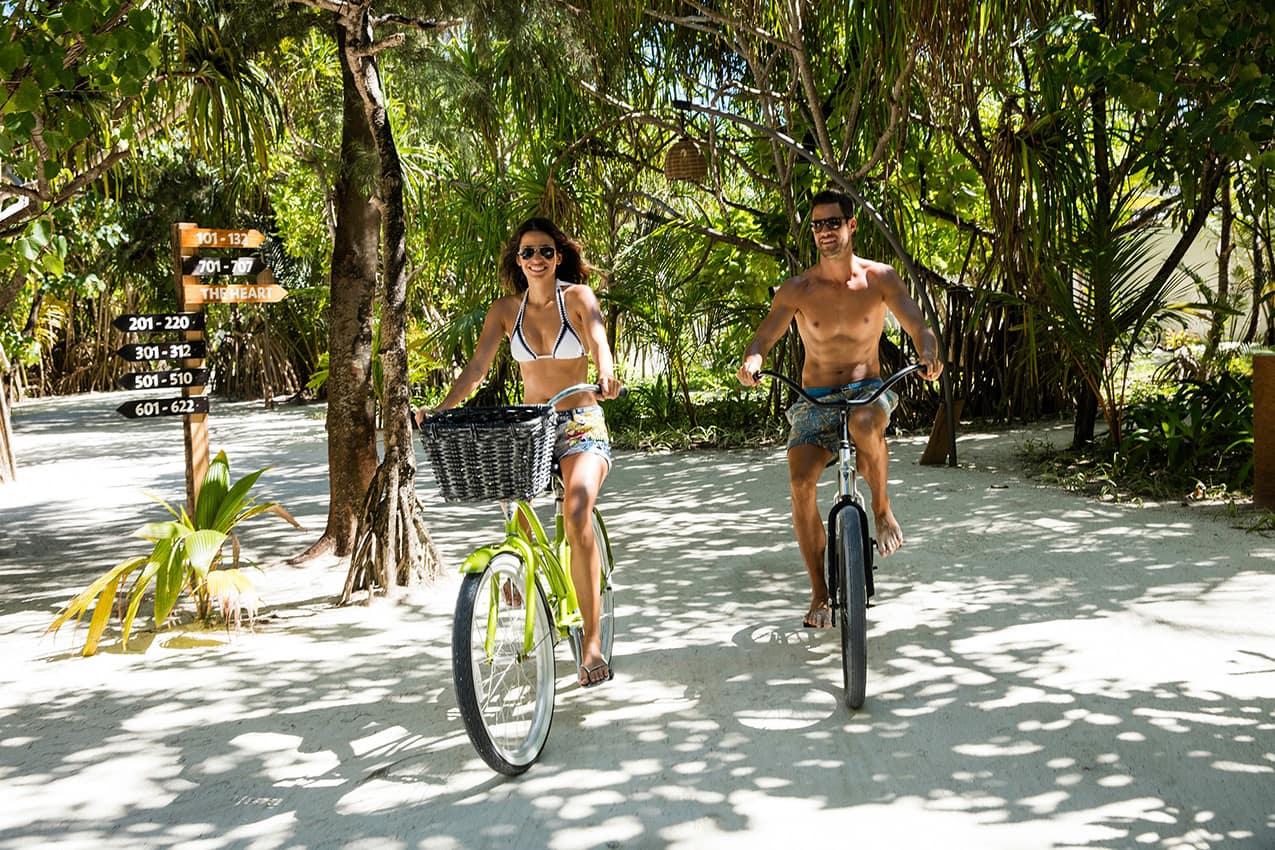 Bicicletas Kanuhura Maldives