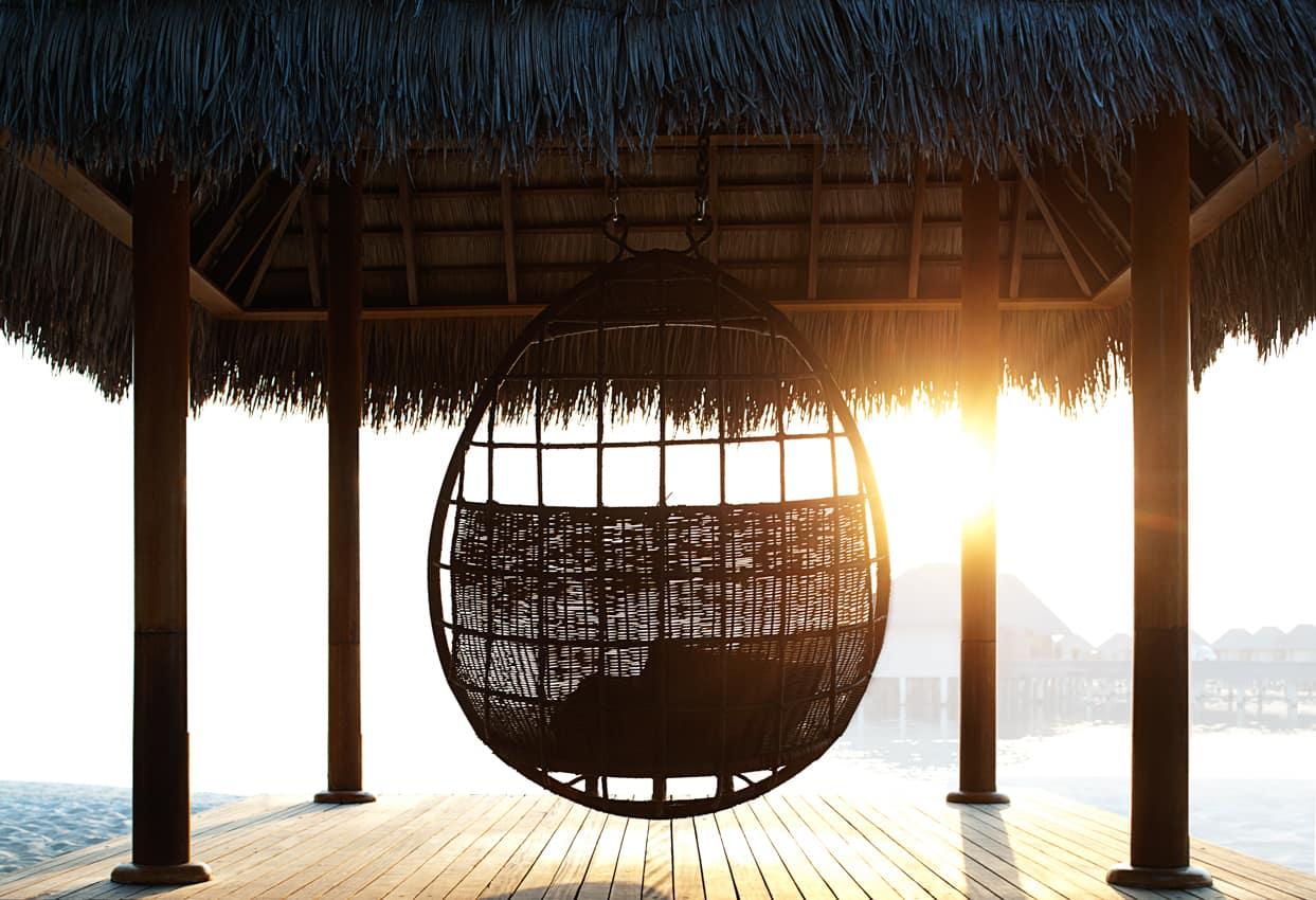Cadeira por sol, W Retreat Spa Maldives, Ilhas Maldivas